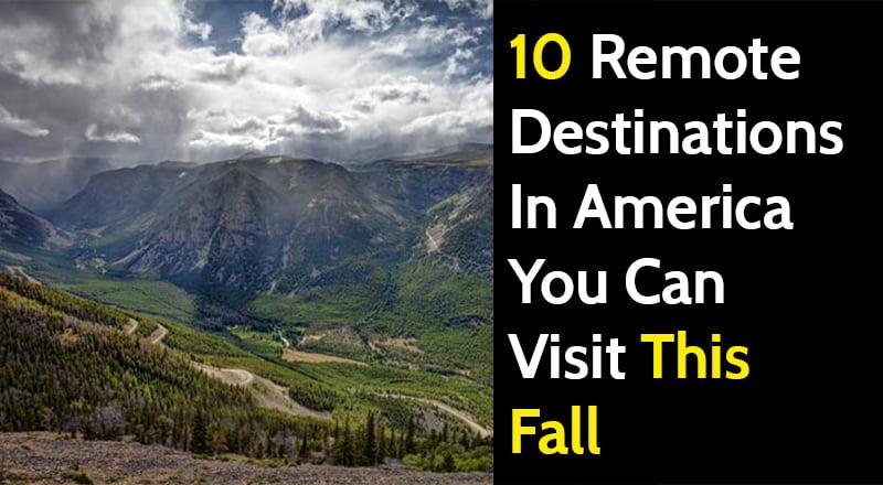 Remote destination in USA