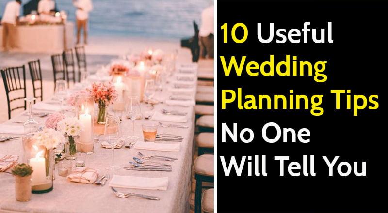 Wedding Planning Tips & Tricks