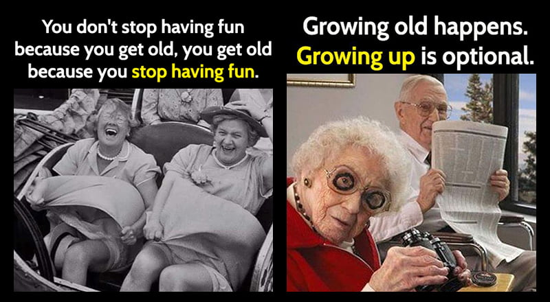 15 Funny Memes About Getting Old Bouncy Mustard