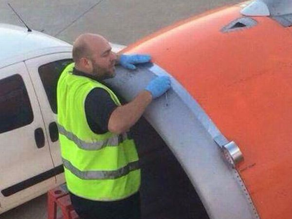 Funny Duct Tape Fixes Anything airplane