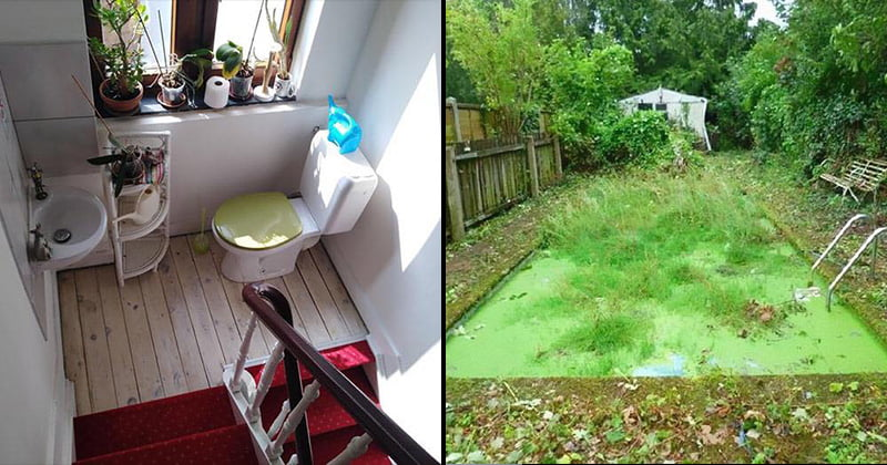 Bad real estate listing photos