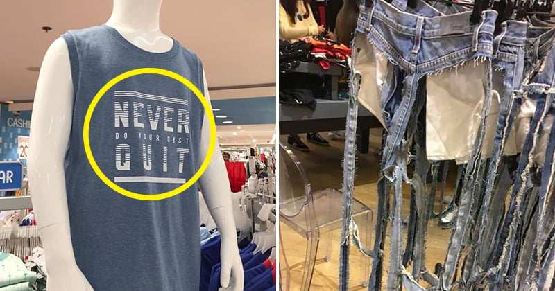 Hilarious Fashion Clothing Design Fail