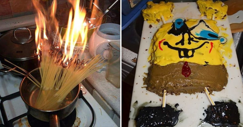 Hilarious Kitchen Fails Funny Cooking Disaster