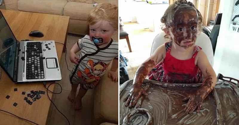 Hilarious Mess When Kids Are Too Quiet