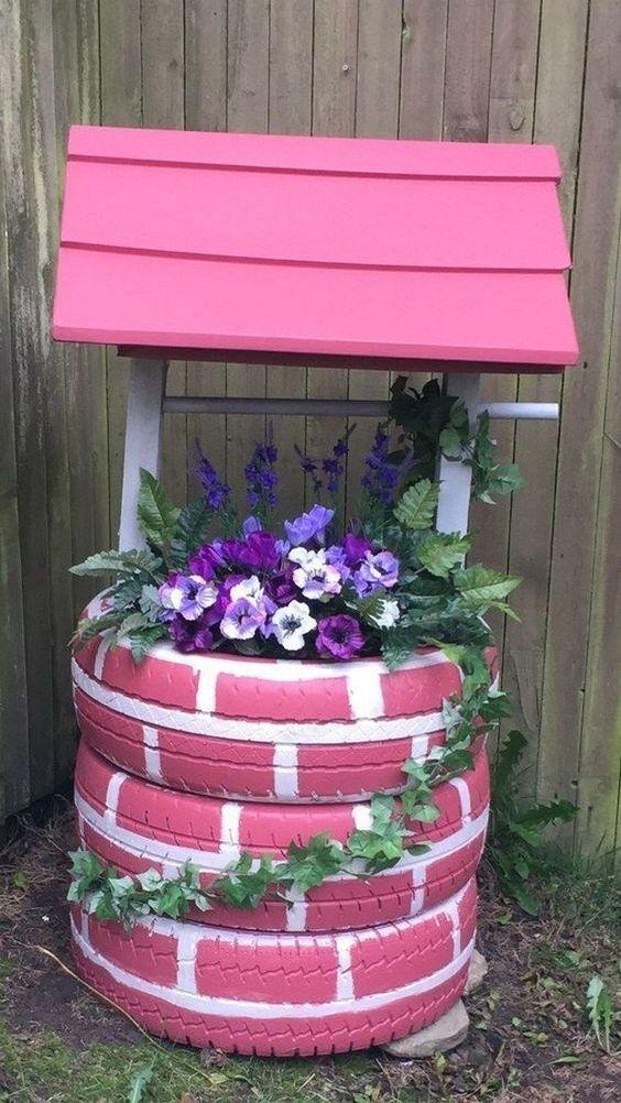 Creative Flower Bed Unique Garden Ideas