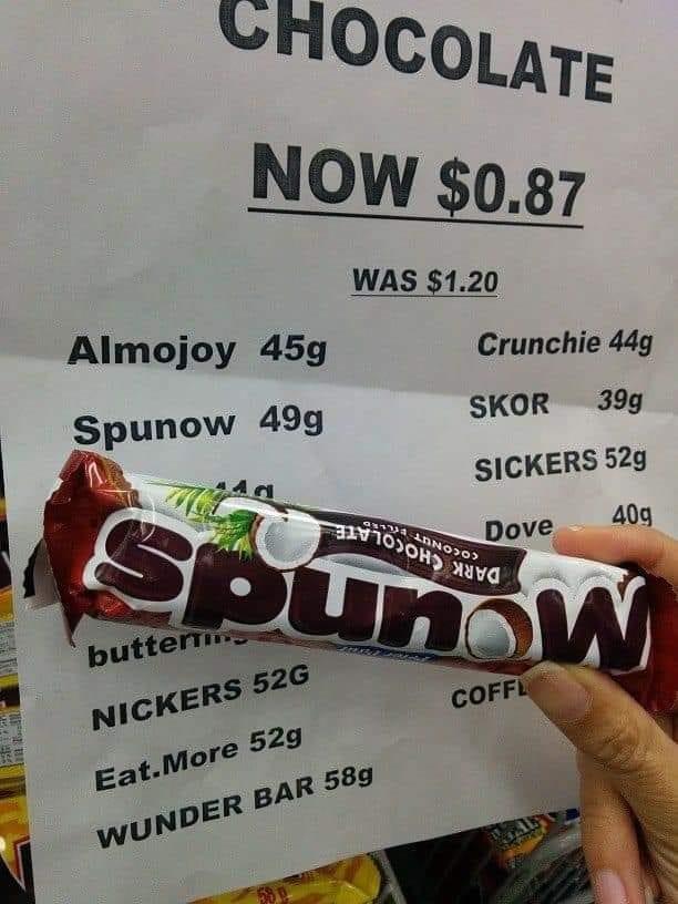 Funny Sign spunow