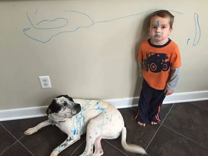 funny kid vs marker