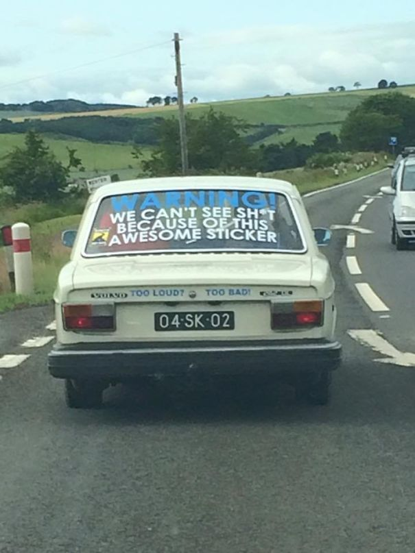 funny things spotted in traffic