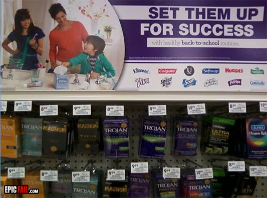 funny back-to-school supermarket epic fail