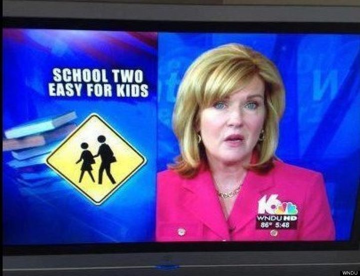 funny back-to-school tv epic fail