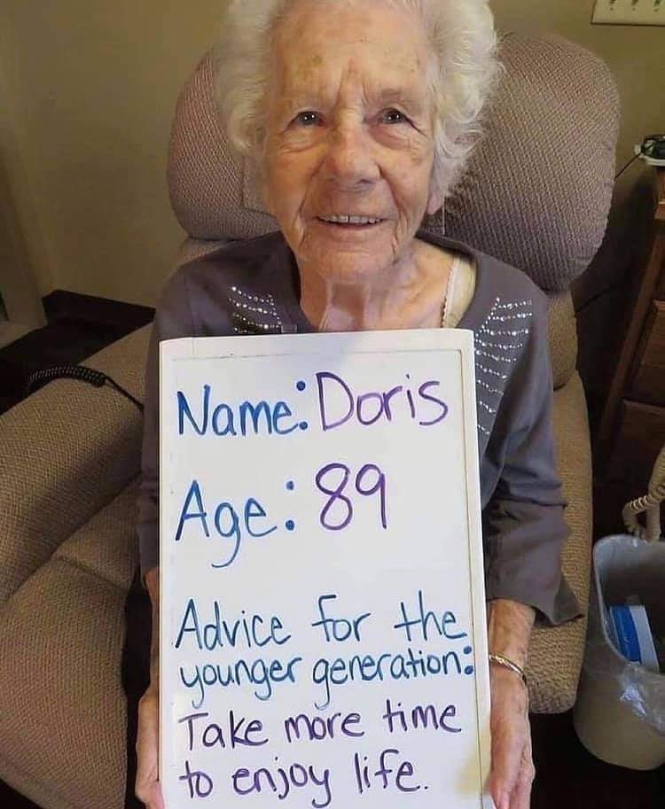 elders share life advice for young generations