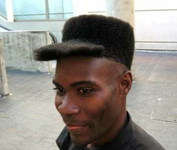 funny hairstyle fail hat