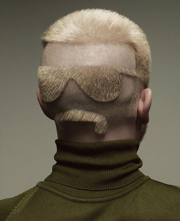 funny hairstyle fail sunglasses