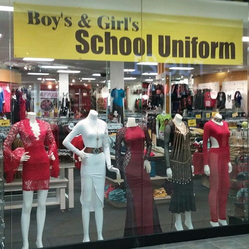 funny back-to-school store school uniform epic fail