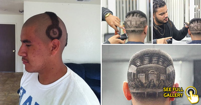 funny hairstyle fail haircut
