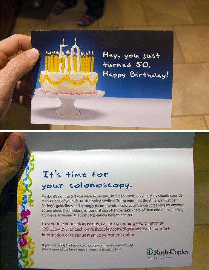 funny birthday card fail