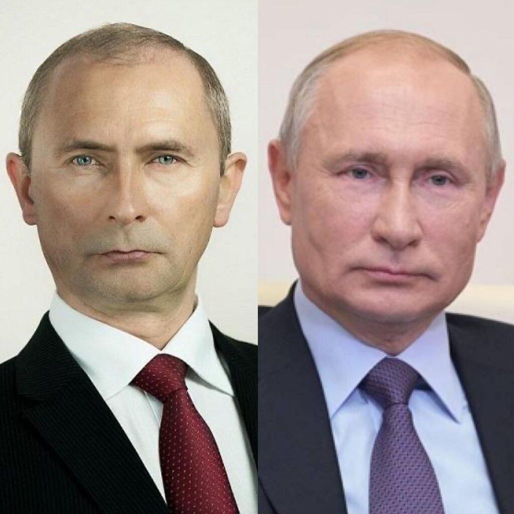 celebrity doppelgangers famous lookalike Putin