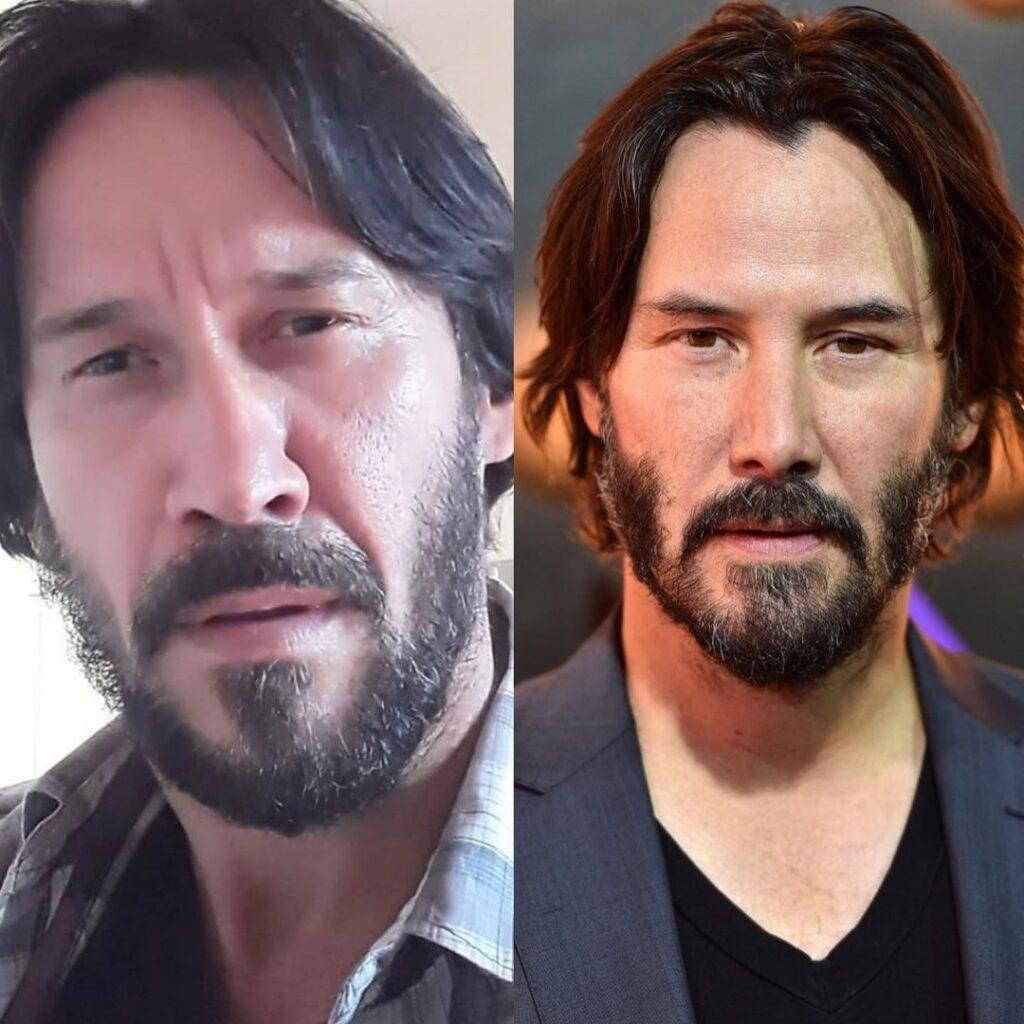 celebrity doppelgangers famous lookalike Keanu Reeves