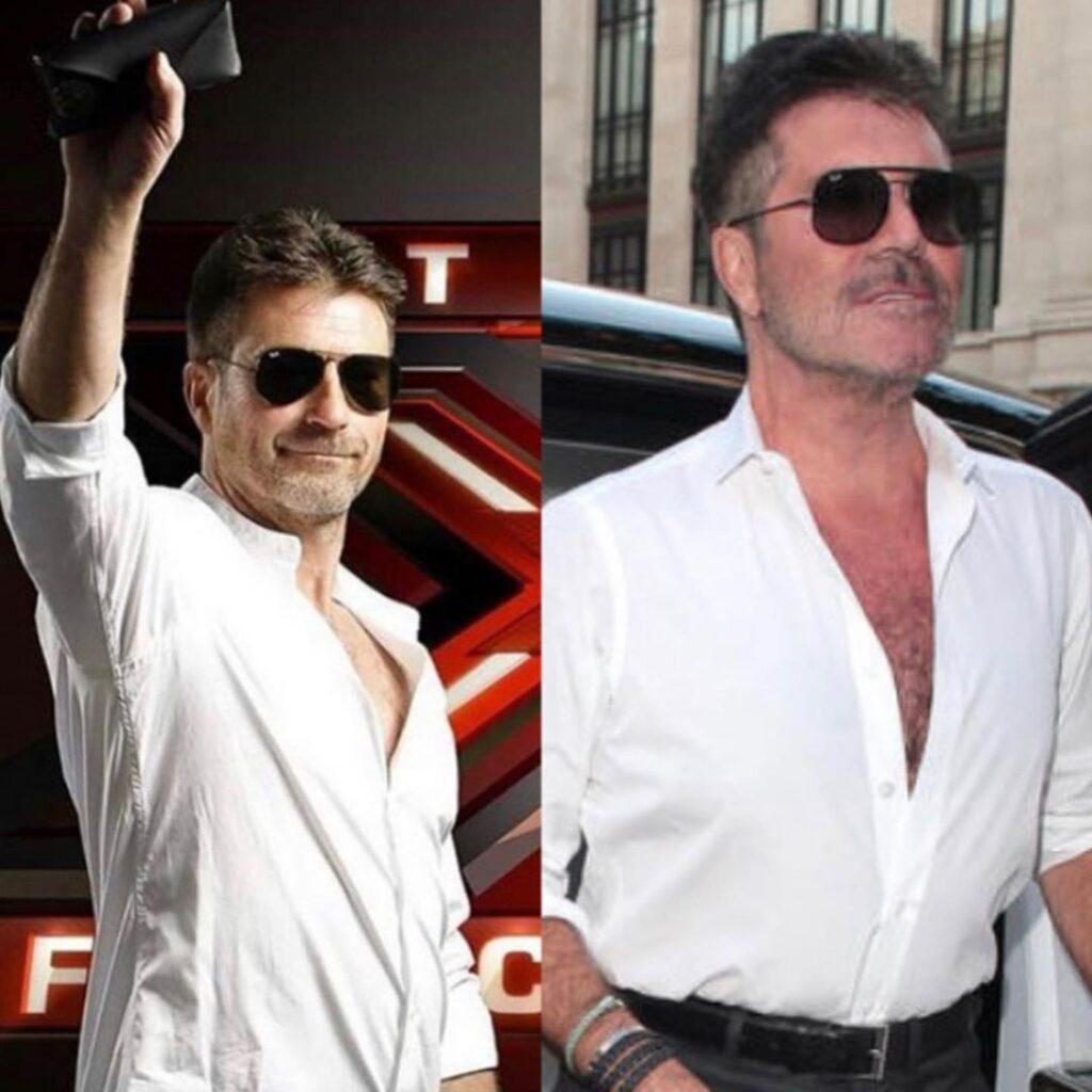 celebrity doppelgangers famous lookalike Simon Cowell