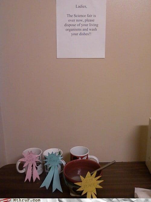 funny passive-aggressive office signs