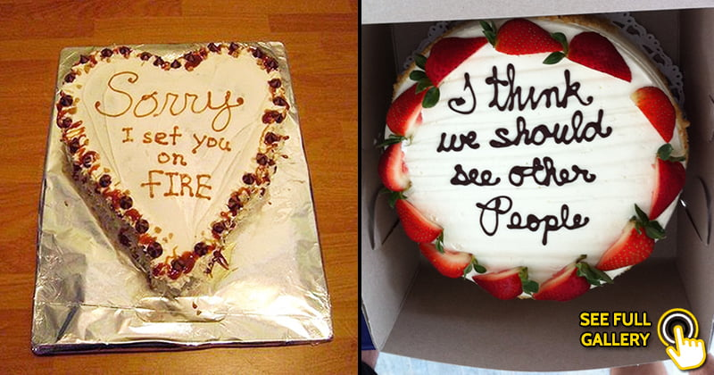 Hilarious Cakes For Really Awkward Occasions